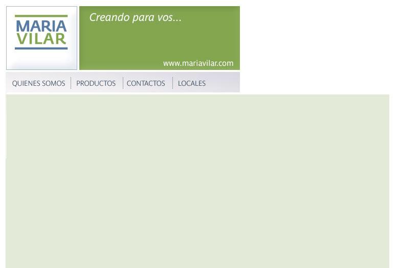 Maria Vilar / Creando para vos...